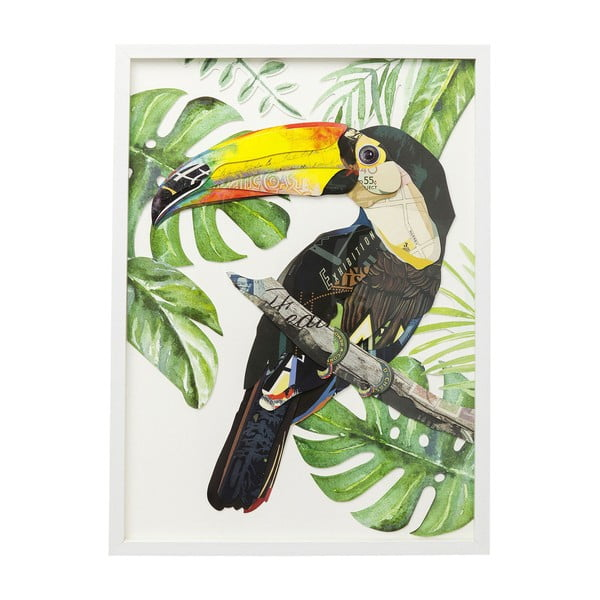 Obraz Kare Design Paradise Single Bird, 70 x 50 cm