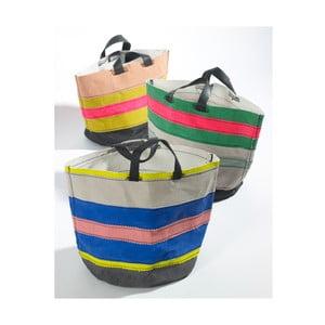 Set 3 sacoșe de pânză Marie Lines, 22 cm