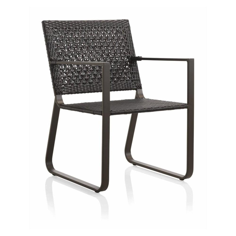 Zahradní židle s područkami Geese Onyx