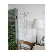 Bílý nástěnný věšák Orchidea Milano Vintage