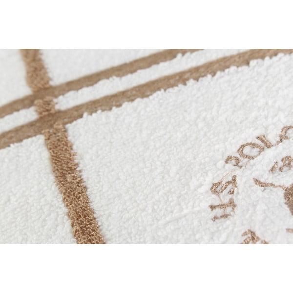 Osuška US Polo Roswell Beige, 70x140 cm