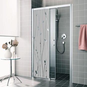 Autocolant rezistent la apă, pentru cabina de duș, Ambiance Romantic imagine