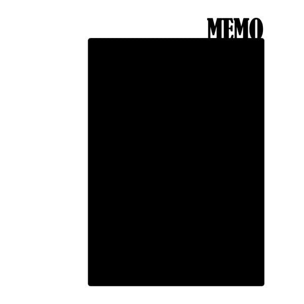 Dekorativní tabulová samolepka Memo