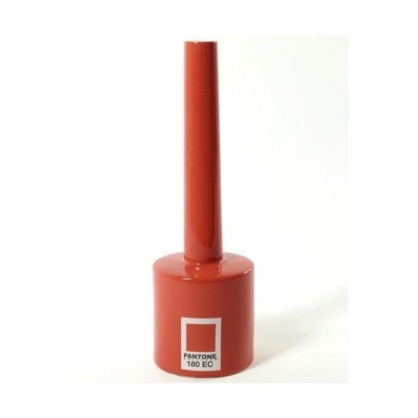 Váza Pantone Red, 30 cm