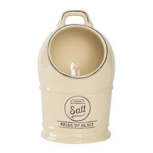 Recipient ceramic pentru sare T&G Woodware  Pride of Place, crem