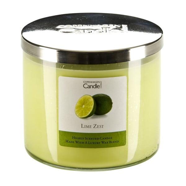 Aroma svíčka s vůní limetek Copenhagen Candles, doba hoření 50 hodin
