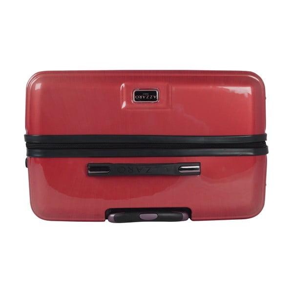 Kufr Azzaro Medium Red, 70.2 l