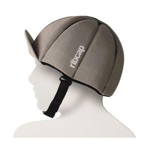 Čepice s ochrannými prvky Ribcap Hardy Sand, vel. S