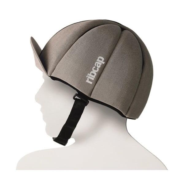 Čepice s ochrannými prvky Ribcap Hardy Sand, vel. M