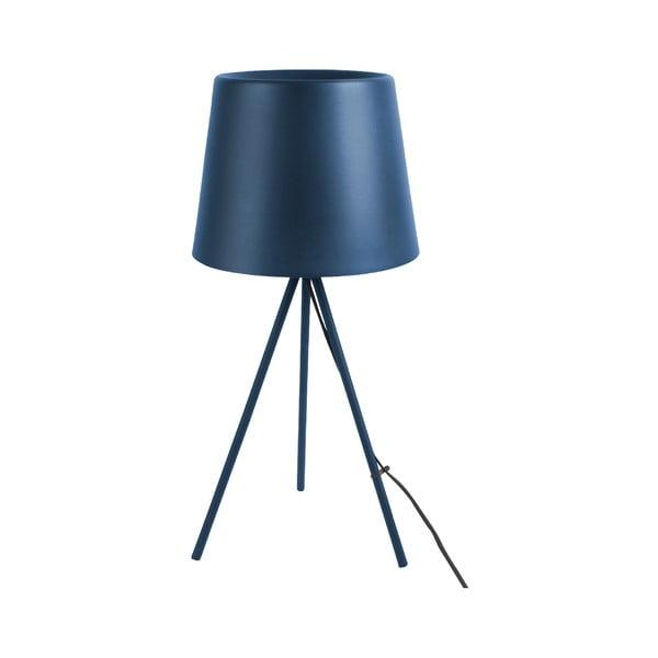 Tmavomodrá stolová lampa Leitmotiv Classy