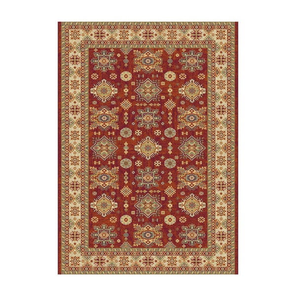 Covor Universal Terra Ornaments, 110 x 57 cm, maro-roșu