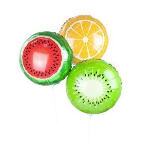 Sada 3 barevných balónků Talking Tables Fruit