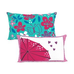 Bavlněný oboustranný povlak na polštář Moshi Moshi Cherry Blossom