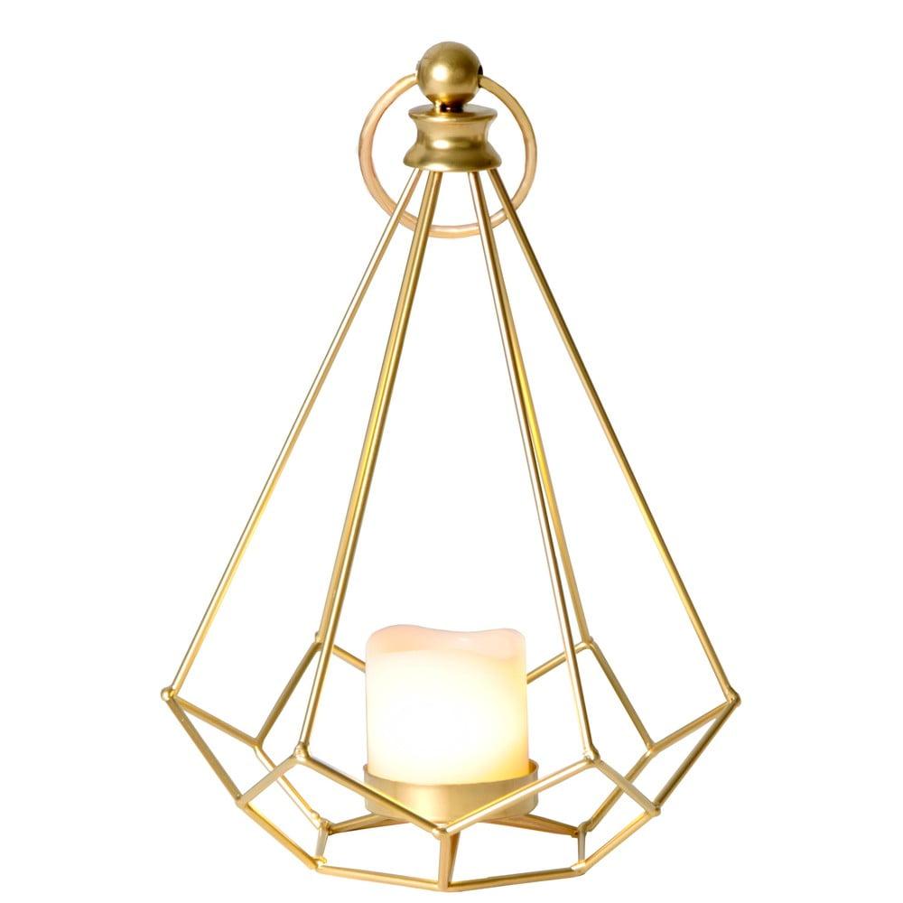 LED lucerna v mosazné barvě Best Season Dome