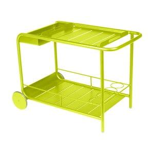 Limetkově zelený servírovací stolek Fermob Luxembourg