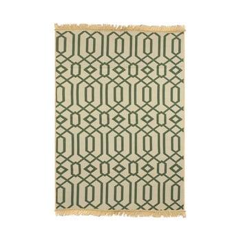 Covor Ya Rugs Kenar, 80 x 150 cm, verde de la Ya Rugs