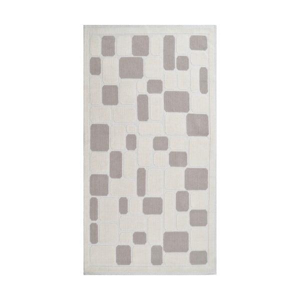 Odolný bavlněný koberec Vitaus Mozaik Bej, 120x180cm