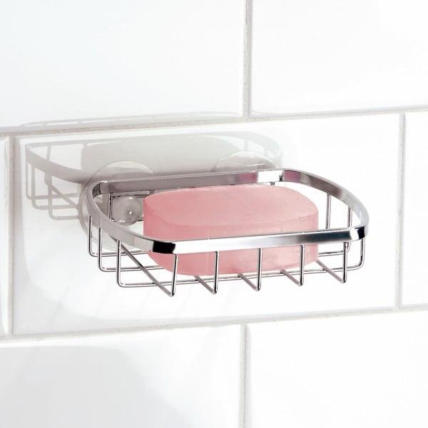 Kovový košík na mýdlo s přísavkami Gia