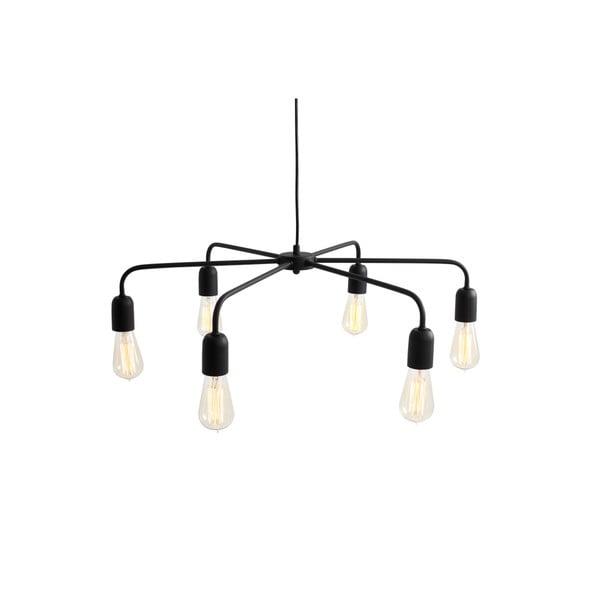 Černé závěsné světlo Custom Form Croser