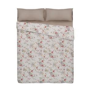 Přehoz přes postel s motivem květin Unimasa Romantic, 235 x 260 cm