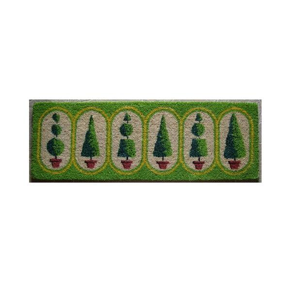 Rohožka Trees, 120x40 cm