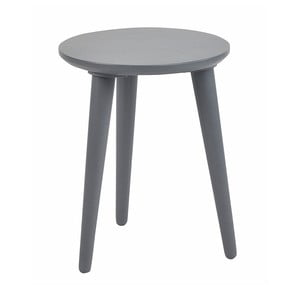 Tmavě šedá dubová stolička Folke Imp