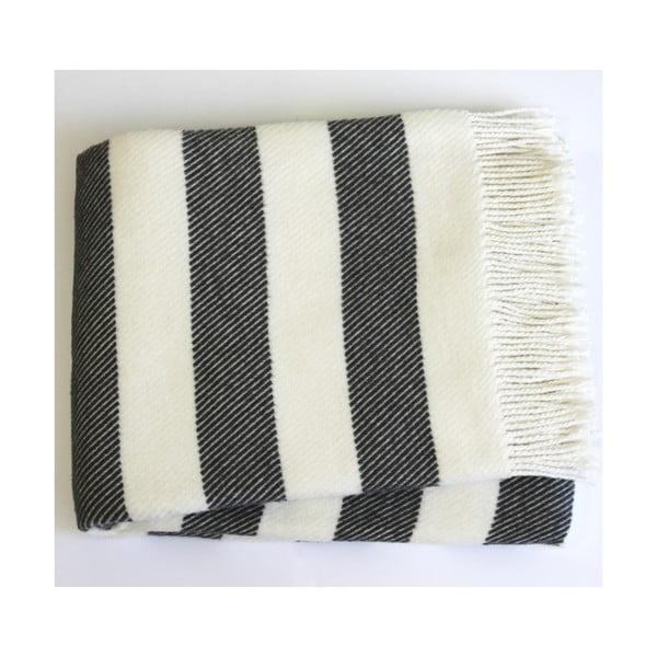 Tmavě šedá deka Euromant Candy, 140x180cm