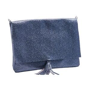 Tmavě modrá kabelka z pravé kůže Andrea Cardone Hannuma