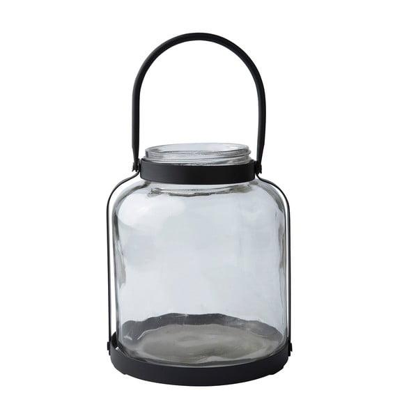 Svícen Glass urricane, 19 cm