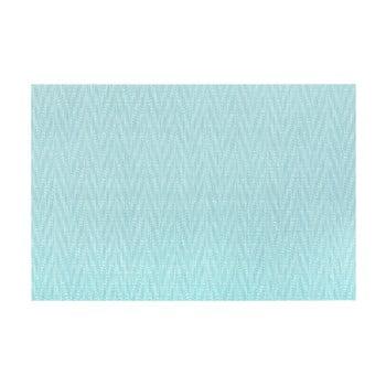Suport pentru farfurie Tiseco Home Studio Chevron, 45 x 30 cm, albastru de la Tiseco Home Studio