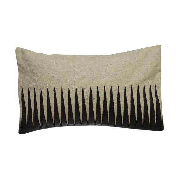 Polštář s koženým efektem Premier Housewares Thorns, 33x60cm
