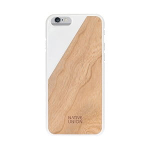 Ochranný kryt na telefon Wooden White pro iPhone 6