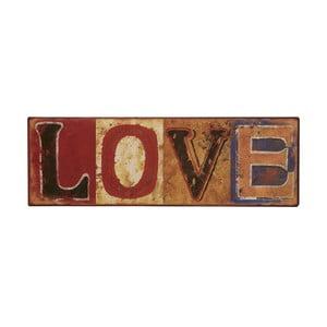 Cedule Love, 43x12 cm