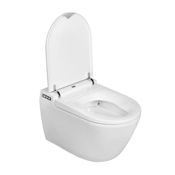 Toaleta podwieszana z inteligentną deską sedesową Wenko Smart