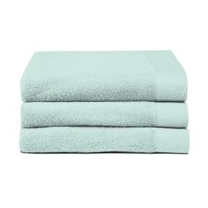 Sada 3 zelených ručníků Seahorse Pure,60x110cm