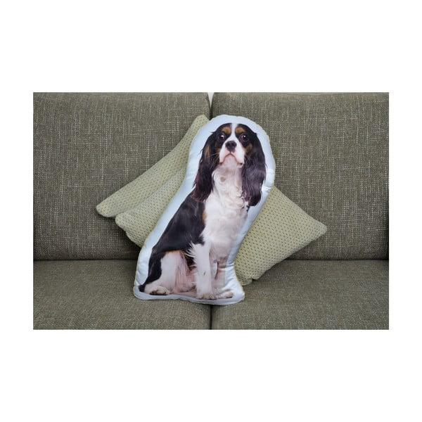 Polštářek Adorable Cushions Černobílý kavalírek
