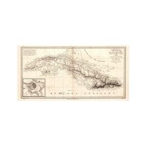 Fotoobraz Kuba, rok 1820, 100x50 cm
