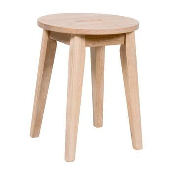 Scaun jos, mat din lemn de stejar Rowico Frigg imagine