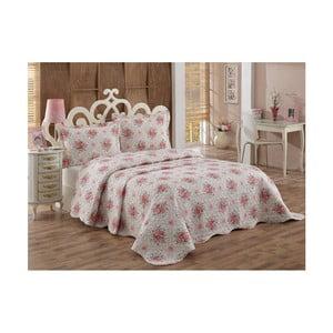 Set přehozu přes postel a 2 povlaků na polštář Senturo Kanta, 250 x 260 cm