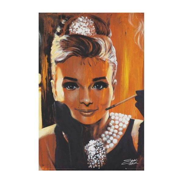 Fotoobraz Audrey Painting, 51x81 cm