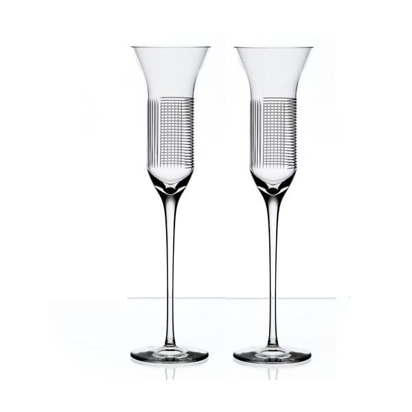 Sada 2 fléten na šampaňské Lines od Olgoj Chorchoj, 150 ml