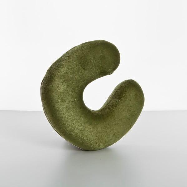 Polštář Visco Neck 27x27x7 cm, green