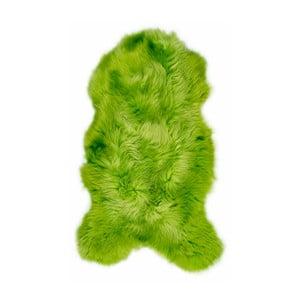 Zelená ovčí kožešina Arctic Fur Swedo, 90x60cm