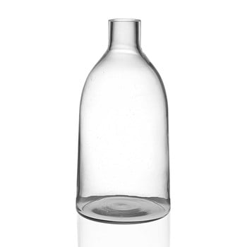Vază din sticlă Versa Prahna, înălțime 29 cm, transparent de la Versa