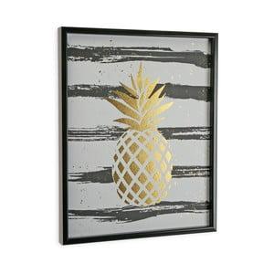 Tablou cu ramă Versa Pineapple, 45 x 60 cm