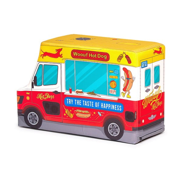Sedací vak Hot Dog Truck