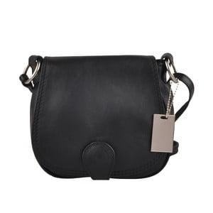 Černá kožená kabelka Matilde Costa Gisstel