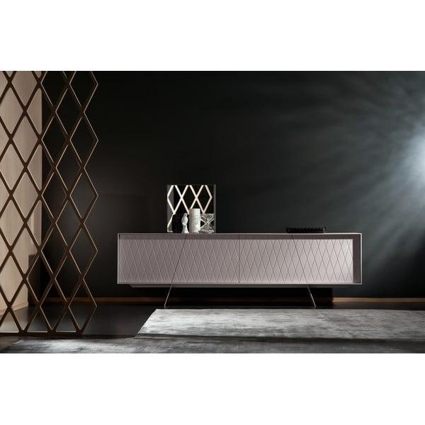 Televizní stolek E-klipse Lacquered AL2, 180cm