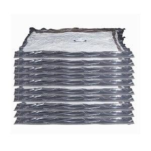 Set 10 saci cu vacuum pentru îmbrăcăminte Compactor Aspispace, 90x55cm/100x80cm