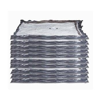 Set 10 saci cu vacuum pentru îmbrăcăminte Compactor Aspispace, 90x55cm/100x80cm imagine